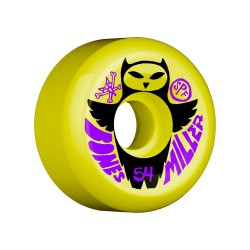 Bones SPF Miller Owl 54mm/104A yellow