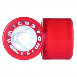 Custom Wheels II. 72mm/80A red