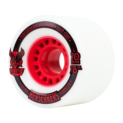 Divine Berserkers 70Mm/78A white/red