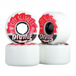 Divine City Slashers 64Mm/78A white
