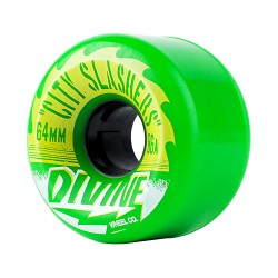 Divine City Slashers 64mm/82A green