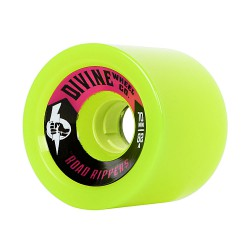 Divine Road Rippers 70mm/82A lime green