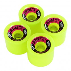 Divine Road Rippers 70Mm/82A lime