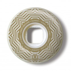 Element Pattern Street white/gold