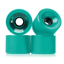 Goldcoast Shred Boots 70Mm/85A teal