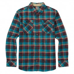Burton Boys Brighton larkspur yolo plaid