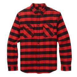 Burton Brighton Burly Flannel fiery buffalo plaid