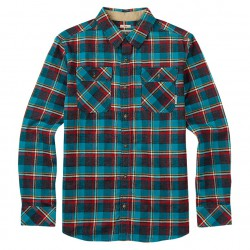 Burton Brighton Flannel larkspur yolo plaid