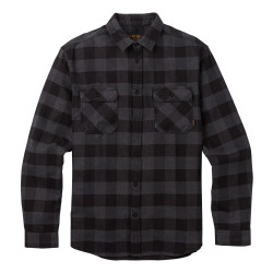 Burton Brighton Flannel true black buffalo