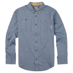 Burton Glade Long Sleeve light chambray