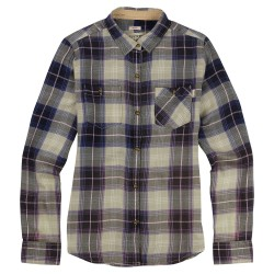Burton Grace Long Sleeve Woven eclipse sunset plaid
