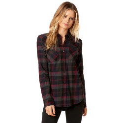 Fox Flown Flannel midnight
