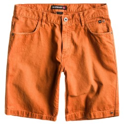 Quiksilver Kracker Short 19 gold flame