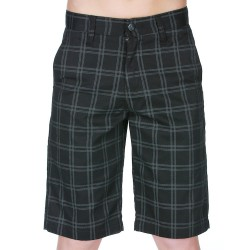 Volcom Frickin Plaid Jr black