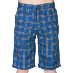 Volcom Frickin Plaid Jr blue moon
