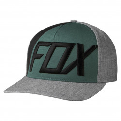 Fox Blocked Out Flexfit heather grey