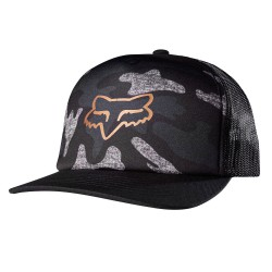 Fox Copper Topper Snapback black camo