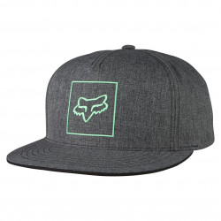 Fox Crass Snapback heather black