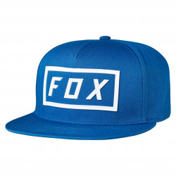 Fox Fumed Snapback blue