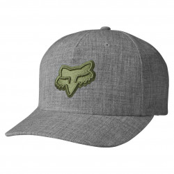 Fox Heads Up Flexfit heather grey