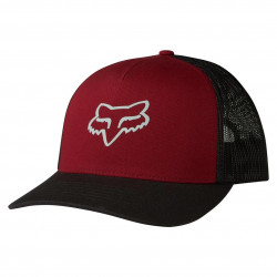 Fox Heads Up Trucker dark red