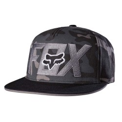 Fox Keep Out Snapback black camo