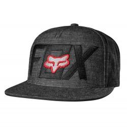 Fox Keep Out Snapback black/red
