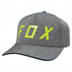 Fox Moth Flexfit charcoal heather