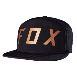 Fox Moth Snapback black