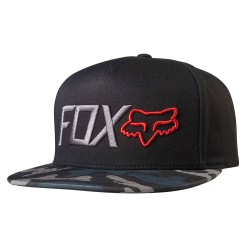 Fox Obsessed Snapback black camo