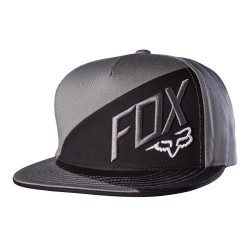 Fox Overlapped Snapback graphite