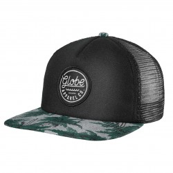 Globe Expedition Trucker nep/green palms
