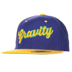 Gravity Sonja Snapback purple/gold