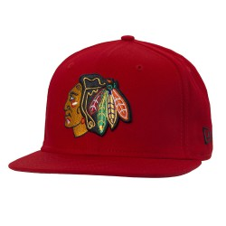 New Era Chicago Blackhawks 9Fifty Cotton scarlet