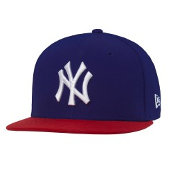 New Era New York Yankees 9Fifty Mlb Co. royal/scarlet