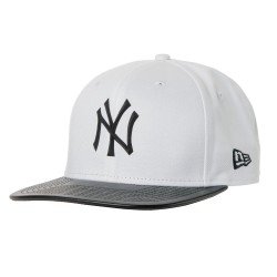 New Era New York Yankees 9Fifty Mlb Rubber Prime white/black
