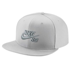 Nike SB Icon Snapback white/wolf grey/black