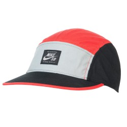 Nike SB Nike Sb Blocked 5 Panel lt crimson/black/base grey