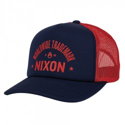 Nixon Low Trucker navy/red