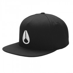 Nixon Simon Snapback black/white