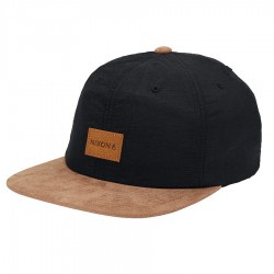 Nixon Wrangler Snapback black/saddle