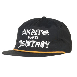 Thrasher Skate And Destroy Puff Ink black