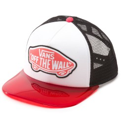 Vans Attendance Trucker transparent hot coral