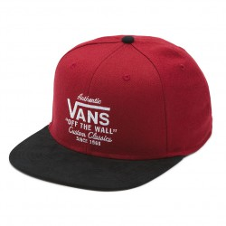 Vans Authentic Vans Snapback rhubarb/black