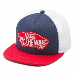 Vans Beach Girl Trucker crown blue/toma