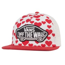 Vans Beach Girl Trucker hearts
