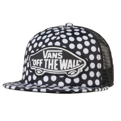 Vans Beach Girl Trucker oversize dots