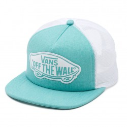 Vans Beach Girl Trucker pool blue