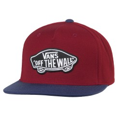 Vans Classic Patch Snapback rhubarb/dress blues