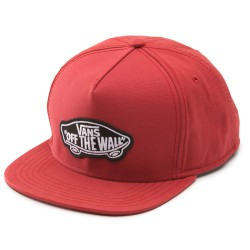 Vans Classic Patch Snapback rust red